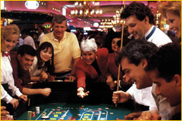 Casino craps action